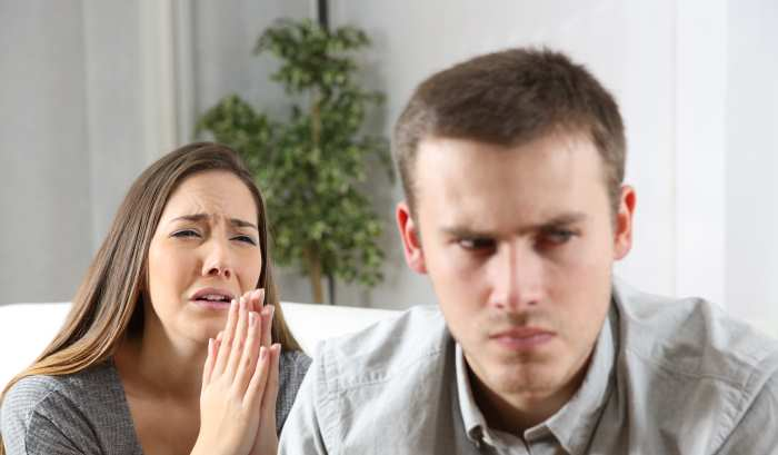 Como confrontar la infidelidad de la mujer